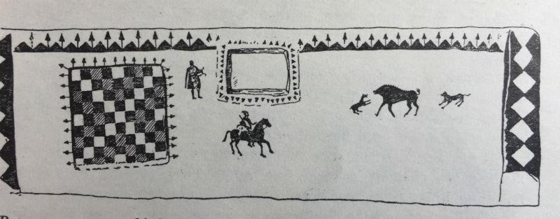 Роспись склепа М 9 некрополя Неаполя скифского